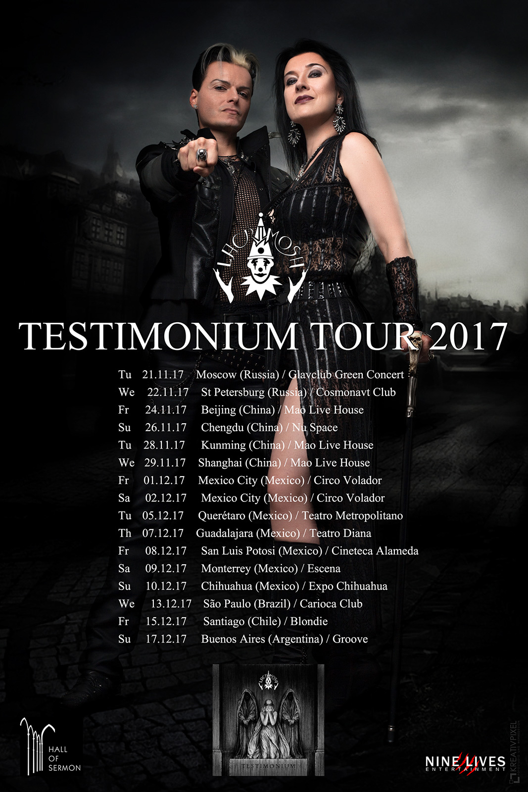 Of Upcoming Russian Dates Lacrimosa