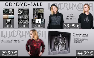 "The time has come! ""Testimonium"" Vinyl is available!"