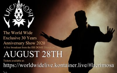 Lacrimosa Live 2020 – Ticket sale